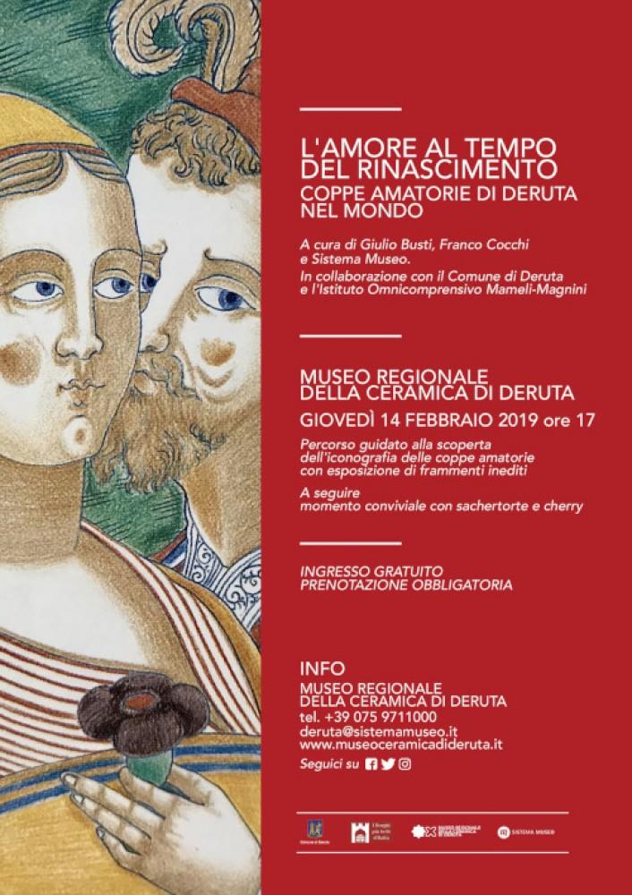 Museo Della Ceramica Di Deruta.L Amore Al Tempo Del Rinascimento Coppe Amatorie Di Deruta