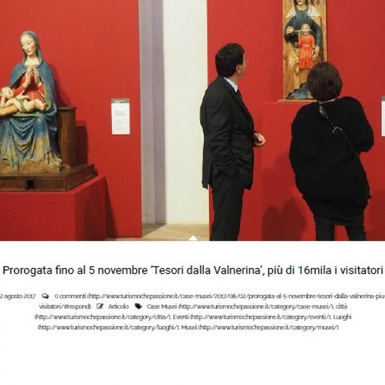 Turismochepassione.it - 'Tesori dalla Valnerina', più di 16mila i visitatori