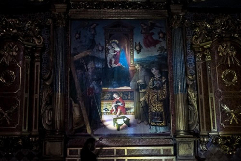 Mostra LUCE - Spello, chiesa di Sant'Andrea