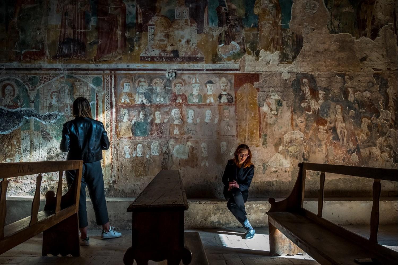 Mostra LUCE - Caso, chiesa di Santa Cristina