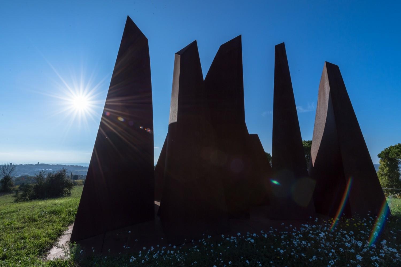 Torgiano, Parco di sculture di Brufa