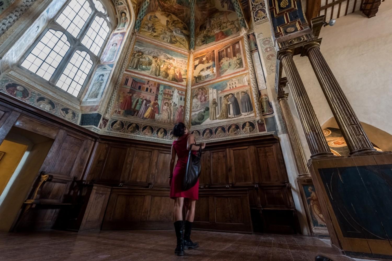 Montefalco, Complesso museale di San Francesco - Benozzo Gozzoli