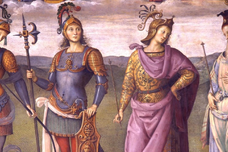 Perugia, Nobile Collegio del Cambio. Sala delle Udienze - Pietro Vannucci detto il Perugino