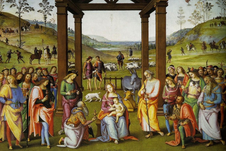 Città della Pieve, Oratorio di Santa Maria dei Bianchi - Pietro Vannucci detto il Perugino