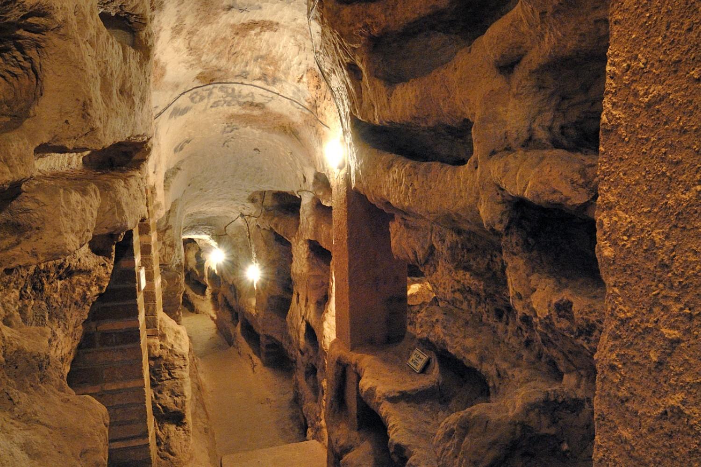 Massa Martana, Catacomba di Villa San Faustino