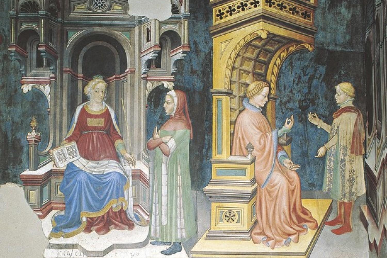 Foligno, Museo della città di Palazzo Trinci -  Gentile da Fabriano e collaboratori